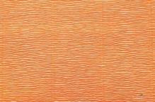 Бумага гофрированная Италия 50см х 2,5м 140г/м2 цв.981 оранжевая