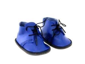 Ботиночки для кукол 8,5см, 1 пара цв.синий