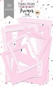 """Набор рамок №1 """"Pink"""" 39шт"""