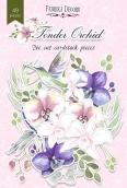 """Набор высечек, коллекция """"Tender Orchid"""",49 шт"""