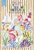 """Набор высечек, коллекция """"Sea breeze """",61 шт"""