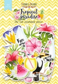 """Набор высечек, коллекция """"Tropical paradise"""",54 шт"""