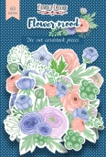 """Набор высечек, коллекция """"Flower mood"""",63 шт"""