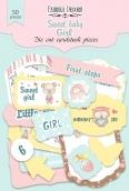"Набор высечек, коллекция ""Sweet baby girl-1"""