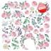 """Набор скрапбумаги """"Mysterious garden"""", 30,5x30,5см, Фабрика Декору"""