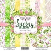 "Набор скрапбумаги ""Spring blossom"", 20x20см, Фабрика Декору"