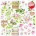 "Набор скрапбумаги ""Spring blossom"", 30,5x30,5см, Фабрика Декору"