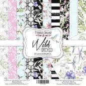 "Набор скрапбумаги ""Wild orchid"", 20x20см, Фабрика Декору"