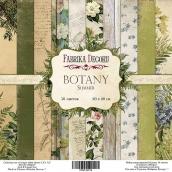 "Набор скрапбумаги ""Botany summer"", 20 х 20см, Фабрика Декору"