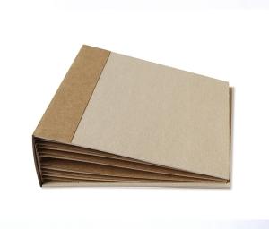 Заготовка для фотольбома из крафт-картона 20см x 20см