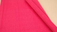 Бумага гофрированная Италия 50см х 2,5м 140г/м цв. темно-розовая