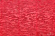 Бумага гофрированная Италия 50см х 2,5м 180г/м? цв.580 красный