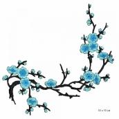Термоаппликации  цв.2 голубой 35х10 см