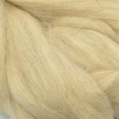 Шерсть для валяния ПЕХОРКА полутонкая шерсть (100%шерсть) 50г цв.530 св.натуральный