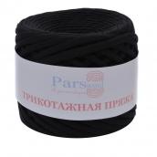 Пряжа трикотажная PARSWOOL (Черный-02) 0,32кг