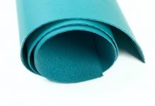 Кожа искусственная 300г/кв.м 50 см х 35 см голубой