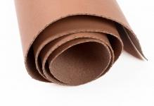 Кожа искусственная 300 г/кв.м 50 см х 35см второй сорт  коричневый