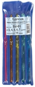 Набор крючков для вязания SV-01 пластик d 3-7 мм 15 см 5 шт