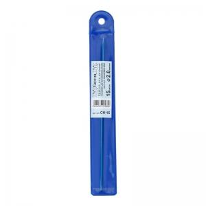 Крючок для вязания цв. CH-15 металл d 2.0 мм 15 см