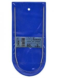 Спицы  GAMMA круговые KNC металл d 2.0 мм 80 см