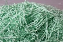 Бумажный наполнитель «Зеленый 108», цветная бумага, 50 г