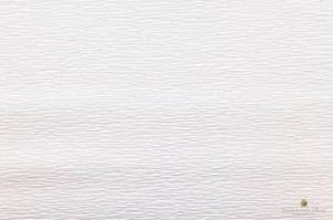 Бумага гофрированная Италия 50см х 2,5м 140г/м? цв.900 белая