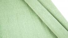 Бумага гофрированная Италия 50см х 2,5м 140г/м цв.св зеленый