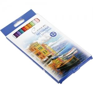 Набор пастельных карандашей Сонет  уп.12 цветов Р