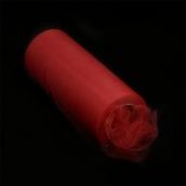 Фатин средней жесткости в шпульках,100% нейлон, шир.150мм цв.09 т.красный