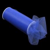 Фатин средней жесткости в шпульках,100% нейлон, шир.150мм цв.21 т.синий