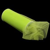 Фатин средней жесткости в шпульках,100% нейлон, шир.150мм цв.25 салатовый