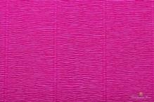 Бумага гофрированная Италия 50см х 2,5м 140г/м цв.952 малиновая