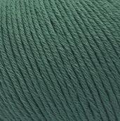 Пряжа Gazzal Organic Baby cotton 427 т.зеленый