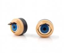 Глаза бегающие (моргающие) TBY 166 цв.синий 1,66 см