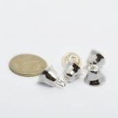 Колокольчик 11мм (серебро) фурнитура для игрушек, 20шт