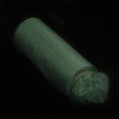 Фатин средней жесткости в шпульках блестящий,100% нейлон, шир.150мм цв.17 зеленый