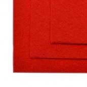 Фетр листовой жесткий IDEAL 1мм 20х30см цв.601 красный