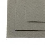 Фетр листовой жесткий IDEAL 1мм 20х30см цв.648 св.серый