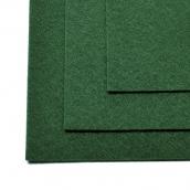 Фетр листовой жесткий IDEAL 1мм 20х30см  цв.667 т.зеленый