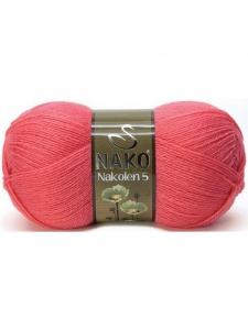 Пряжа Nako Nakolen цв.11200 - 5 мотков