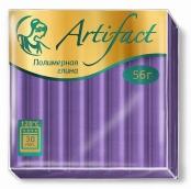 """Полимерная глина """"Артефакт"""" классический цв.Пастельный-фиолетовый 56 г"""