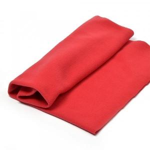 Трикотаж флис  50х56см, красный
