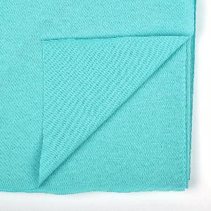 Трикотажная ткань 95х50 см хлопок 100% плотность 140гр цв. тиффани