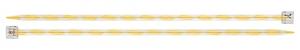 Спицы   прямые  акрил d 6.0 мм 27 см