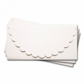 Основа   для подарочного конверта Комплект №1 цв.белый матовый 1шт