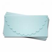 Основа для подарочного конверта Комплект №1 цв.св.голубой матовый 1шт