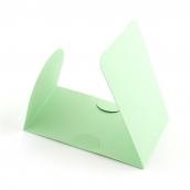 Основа  для оформления подарочной карты Комплект №2 цв.св.зеленый матовый уп.3шт