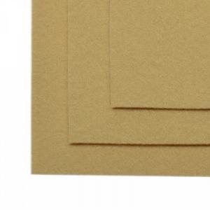 Фетр листовой мягкий IDEAL 1мм 20х30см цв.св.бежевый 1шт