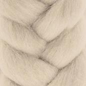 """Шерсть для валяния КАМТ """"Лента для валяния"""" (шерсть п/т 100%) 1х50г/2,1м цв. жемчужный"""