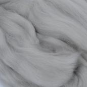 Шерсть для валяния ПЕХОРКА полутонкая шерсть (100%шерсть) 50г цв. св.серый
